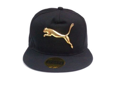 Primary image for Silver Puma Tiger Men Women Baseball Blue Cap Snapback Hat Hip-Hop Cap