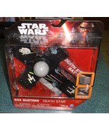 STAR WARS BOX BUSTERS DEATH STAR PLAYSET THE FORCE AWAKENS COLLECTIBLE T... - $3.87