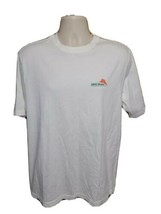 Tommy Bahama Weekend Toolkit Adult Medium White TShirt - $17.82