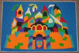 PUZZLE LAURI CASTLE LR2182 2001 LAURI 92 PIECE WITH 2 SMALL PIECE MISSING - $10.00