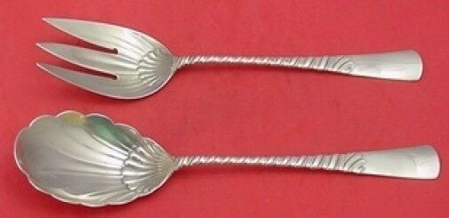 Primary image for Colonial by Gorham Sterling Silver Salad Serving Set All Sterling 10 1/2""