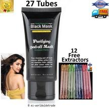 27 Black MASK Blackhead Remover Deep Cleansing Purifying peel facial mud acne - $79.98