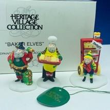 Department 56 Heritage cottage snow village Christmas box 5603-0 Baker e... - $17.26
