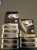 7pk ORGANIC Moroccan Magic Lip Balm - Lavender Vanilla & Peppermint Euca... - $17.82