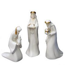 """Kurt Adler 7.25"""" Porcelain Three Kings Set - $33.66"""