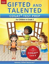 Gifted and Talented COGAT Test Prep Grade 2: Gifted Test Prep Book for t... - $11.87