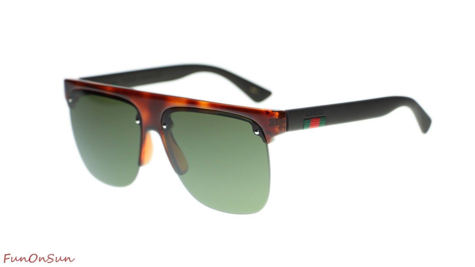 49ef26defb NEW Gucci Men Sunglasses GG0171S 003 Havana and 42 similar items. 10