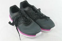 USED Reebok Womens Black Mesh Prime Runner Memory Foam Running Shoe Size... - $18.49