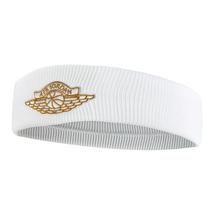 Nike Jordan Wings Headband 2.0 Basketball Unisex Running Hairband White NWT - $26.01