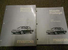 1998 Mazda Protege Service Shop Repair Workshop Manual Set W ETM OEM Factory - $128.65