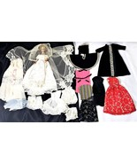 60's Midge Bubble Cut Barbie Doll and Mommy Made Homemade Barbie Clothes... - $49.88