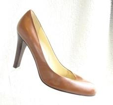 Ralph Lauren Tan leather size 9M Shoes Pump Heels  - $18.01