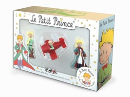 THE LITTLE PRINCE 3 PLASTIC FIGURINES IN BOXSET PLASTOY