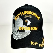 US Army 101st Airborne Division Men's Ball Cap Embroidered Black Acrylic - $12.37