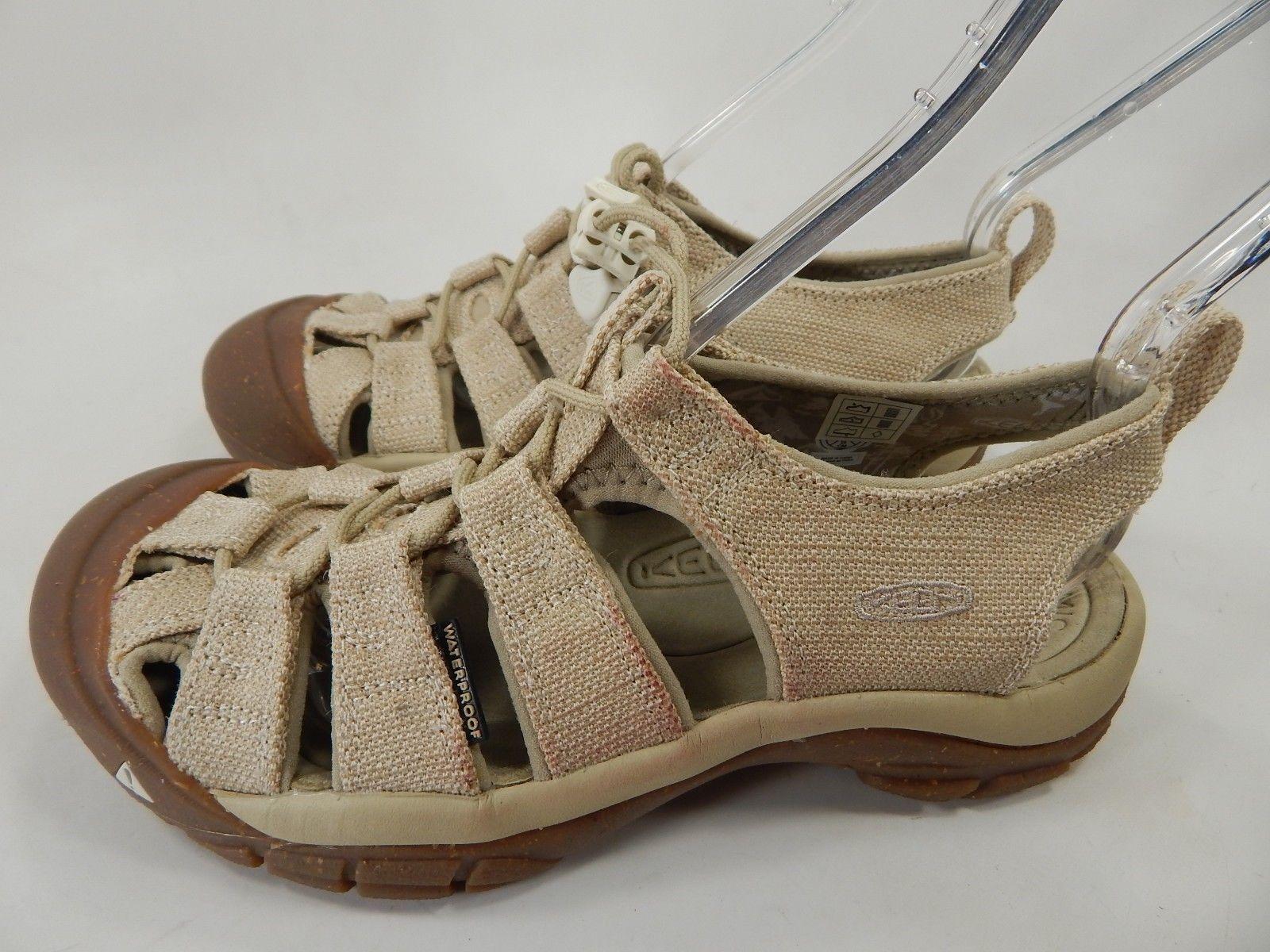 a85015745c4 Keen Newport Retro Size US 7 M EU 37.5 Women s Sports Sandals Hemp   White  Cap