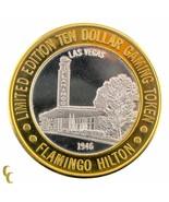 Flamant Rose Hilton 1946 Casino Gaming Token .999 Argent Édition Limitée - $59.34