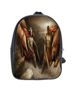 Scbag0017 backpack school bag animation evil and angel good and thumbtall