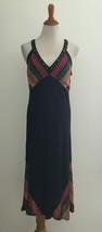 DKNY Jeans Sleeveless Beaded Neck Midi Dress sz Medium - $20.78