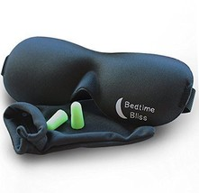 Sleep Mask by Bedtime Bliss - Contoured & Comfortable With Moldex Ear Pl... - €13,85 EUR