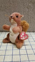 The Squirrel Nuts 1996 Beanie Babies Plush Merchanise Mini Doll - $23.38
