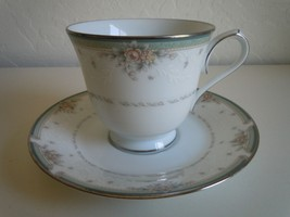 Noritake Greenbrier Cup and Saucer - $12.66