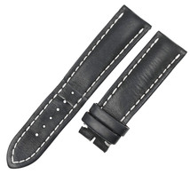 Breitling 435X-A20BA.1 22-20mm Black Leather Mens Watch Strap - $229.00