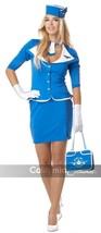 California Costumes Retro Stewardess Flight Attendant Halloween Costume ... - $36.99