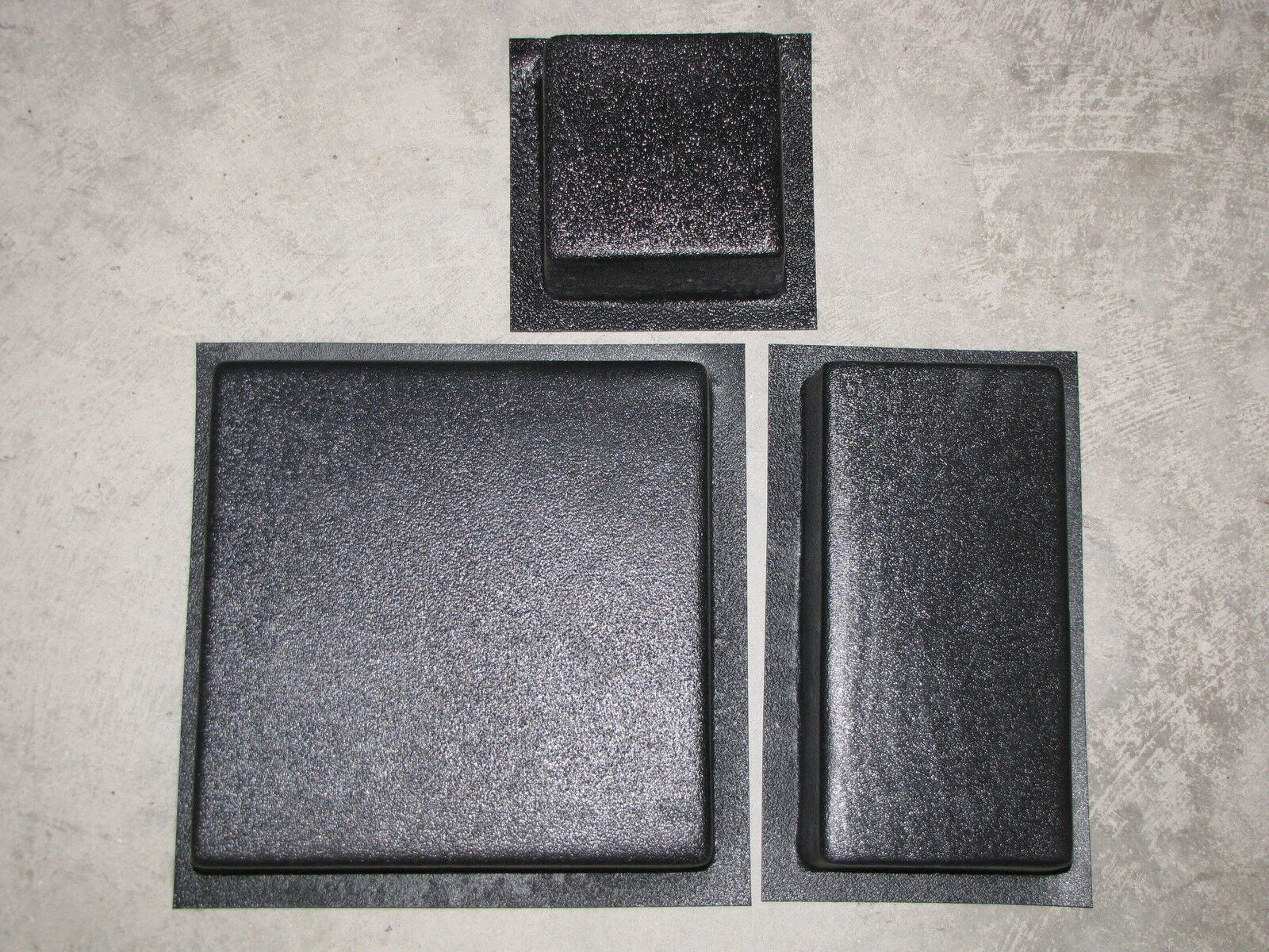 DIY SUPPLY KIT w13 DRIVEWAY PAVER MOLDS #3006K = 100s OPUS ROMANO PATTERN PAVERS