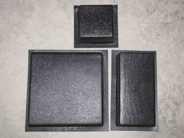 DIY SUPPLY KIT w13 DRIVEWAY PAVER MOLDS #3006K = 100s OPUS ROMANO PATTERN PAVERS image 1