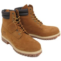 """Timberland Men's 6""""inch Rust Brown Premium Value Work Boots 73542 All Sizes+Usa+ - $159.99"""