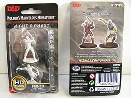 WizKids D&D Nolzurs Marvelous Upainted Miniatures: Wave 11: Wight & Ghast - $6.67