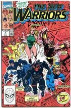 The New Warriors #1 1990- First Printing- Night Thrasher- NM- - $18.92