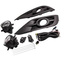 LED Fog Light Lamp Bezel Harness Switch kit  for Honda CRV CR-V  2012-2014 - $40.93