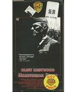 Heartbreak Ridge VINTAGE VHS Cassette Clint Eastwood - $14.84