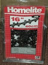 "Homelite J59 16"" Chain Saw Chain 40cm New F42 - $14.50"
