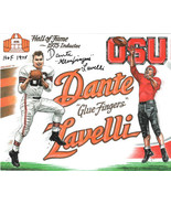 Dante Lavelli signed Ohio State Buckeyes/Cleveland Browns 8x10 Photo dua... - $15.00