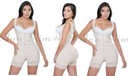 Shapewear for Women Faja Colombiana Powernet zipper Butt Lifter Compress... - $69.99