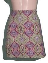 Talbots Women  Skirt  Medallion Print Cotton Stretch Canvas Size 4P. MSRP $69 - $35.64