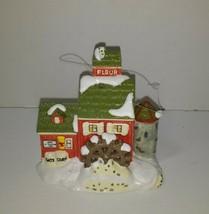 Dept 56 The Original Snow Village J.Young's Granary Non-Lit Ornament #98632 - $12.59