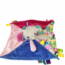 "Bright Starts Taggies Elephant Baby Security Blanket Sensory Lovey 14"" X... - $19.80"