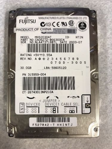 507125-B21//507283-001//518011-001-HP 146GB 10K 6G 2.5 SAS DP HDD