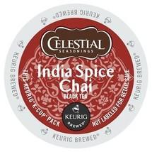 Celestial Seasonings India Spice Chai Tea, 96 K cups, FREE SHIPPING  - $64.99