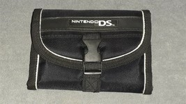 Nintendo DS: Black Wallet Shaped System Carrying Case - $8.00
