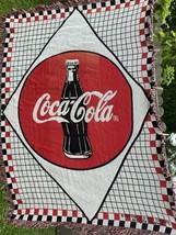 Coke Coca Cola 1989 Blanket/Throw  80 x 48 VG - $43.56