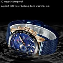 LIGE 2019 Mens Watches Top Brand Luxury Waterproof Fashion Watch Quartz Watch image 4