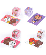 LINE Friends Cube Jigsaw Puzzle 108 pcs 4 Types Character Hobby Toy Teen... - $17.98