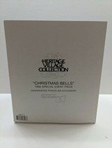 """DEPARTMENT 56 HERITAGE VILLAGE COLLECTION  1996  """" CHRISTMAS BELLS """" NEW... - $29.65"""