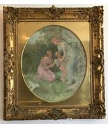 "Frederick S. Church ""The Captive"" Oil Painting Gilt Wood Frame ANTIQUE - $22,500.00"
