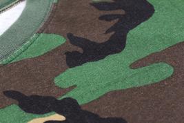 Men's Made in USA Crewneck Camo 100% Cotton Shirt Lightweight Army T-shirt image 4