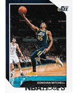 Donovan Mitchell NBA Hoops 18-19 #90 Utah Jazz - $0.50